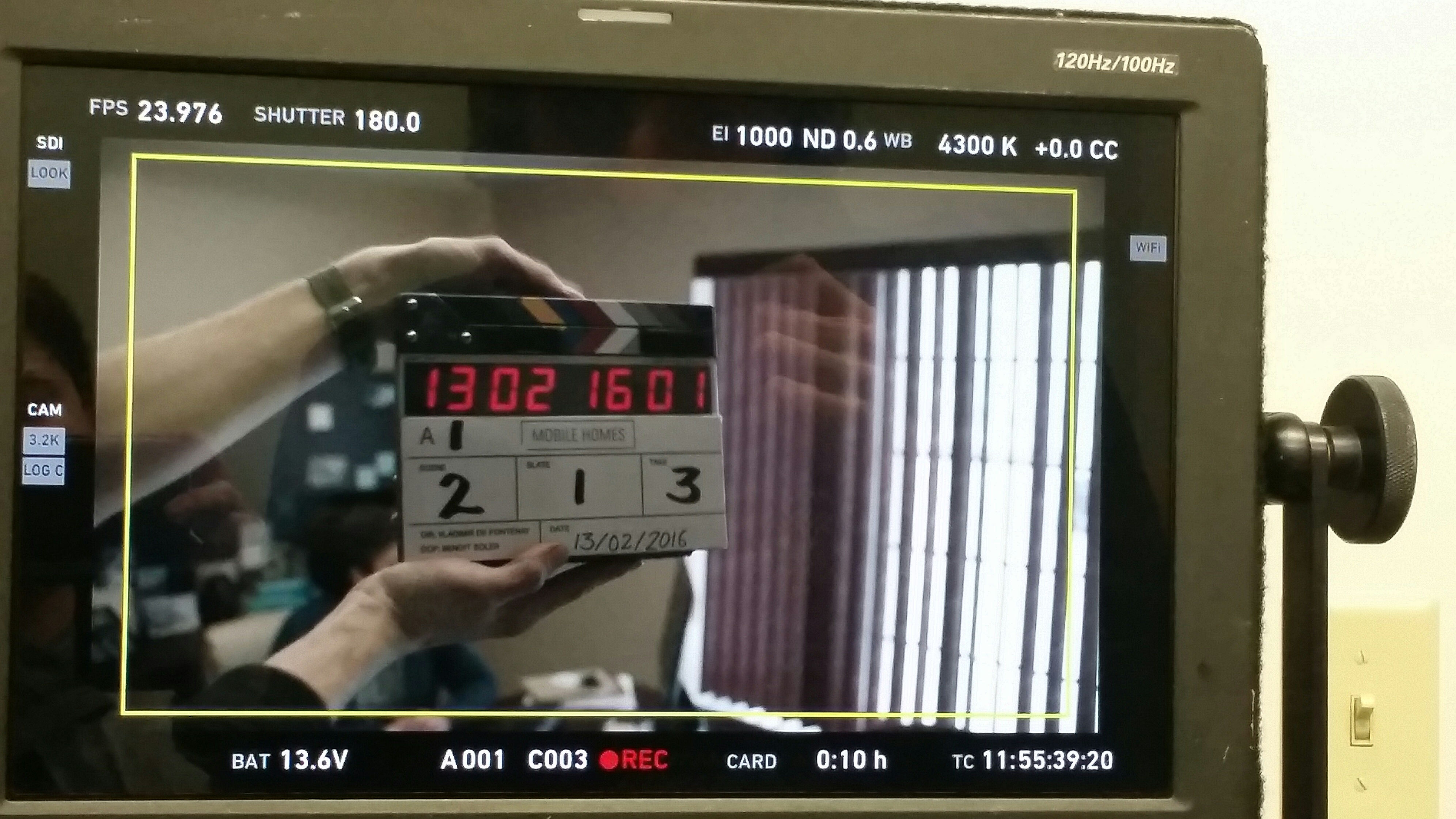 Mobile Homes - first day of shoot